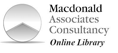 Macdonald Associates Consultancy – OnLine Library